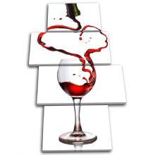 Wine Glass Pouring Food Kitchen - 13-1224(00B)-MP04-PO